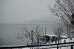 jezioro wiosną